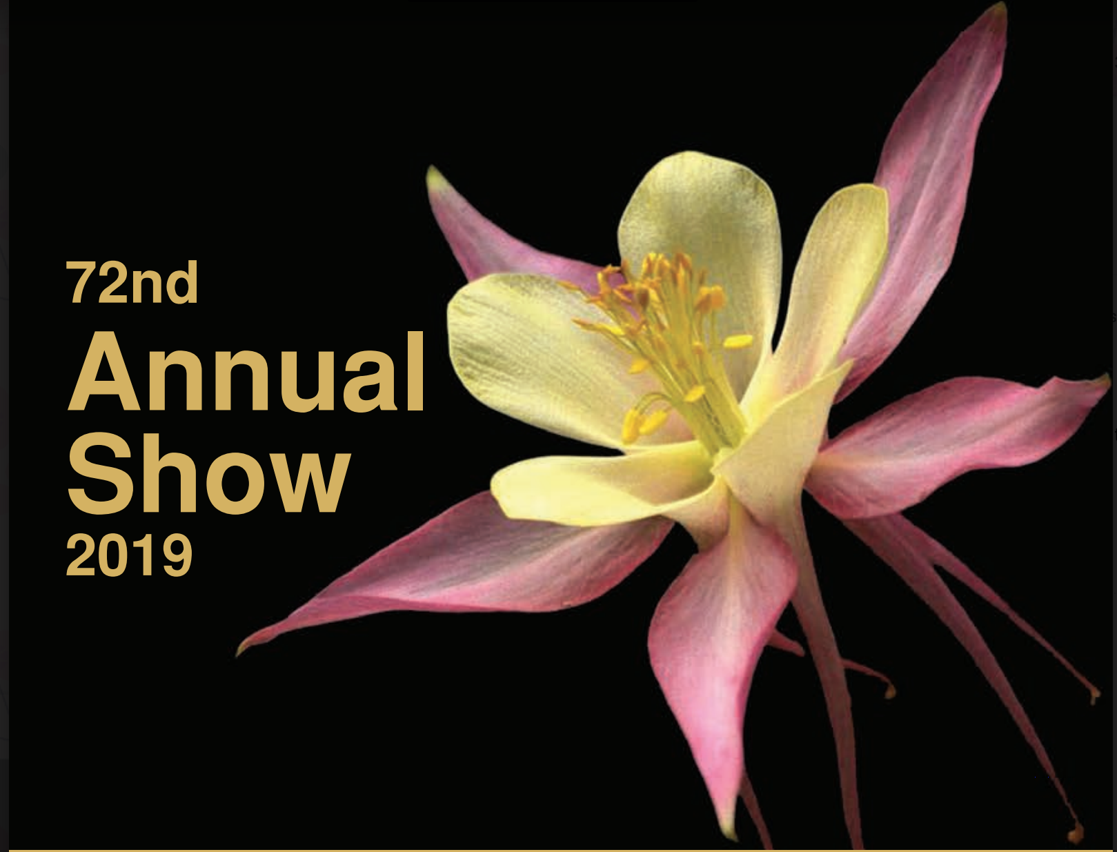 Image of annual show schedule